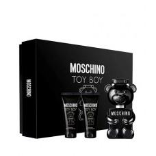 Set Apa de Parfum Moschino Toy Boy 100 ml + 10 ml + 200 ml Gel de dus, Barbati