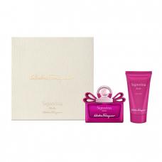 Set Apa de Parfum Salvatore Ferragamo Signorina Ribelle 30ml + 50ml Lotiune de corp, Femei
