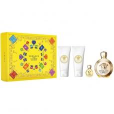 Set Apa de Parfum Versace Eros Femme 100 ml + 5 ml + 100 ml Gel de dus + 100 ml Lotiune de corp, Femei