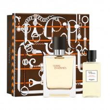 Set Apa de Toaleta Hermes Terre 50 ml + 40 ml Gel de dus, Barbati