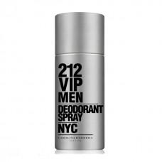 Deodorant Spray Carolina Herrera 212 Vip Men, Barbati, 150ml