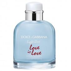 Apa de toaleta Dolce & Gabbana Light Blue Love Is Love, Barbati, 75ml